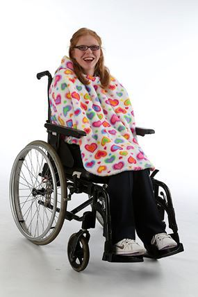 Fleece Wheelchair Poncho Busybuddys